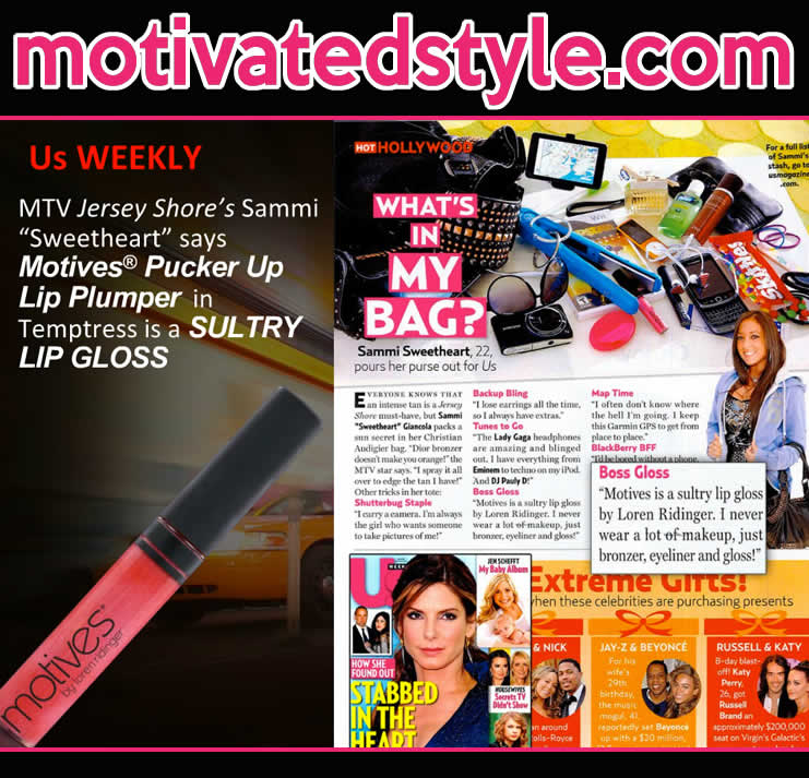 Motives in US Weekly