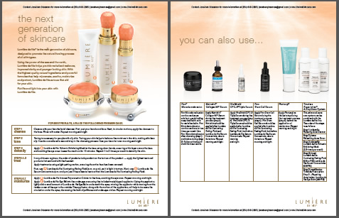 Download the Lumiere De Vie Skincare Regimen