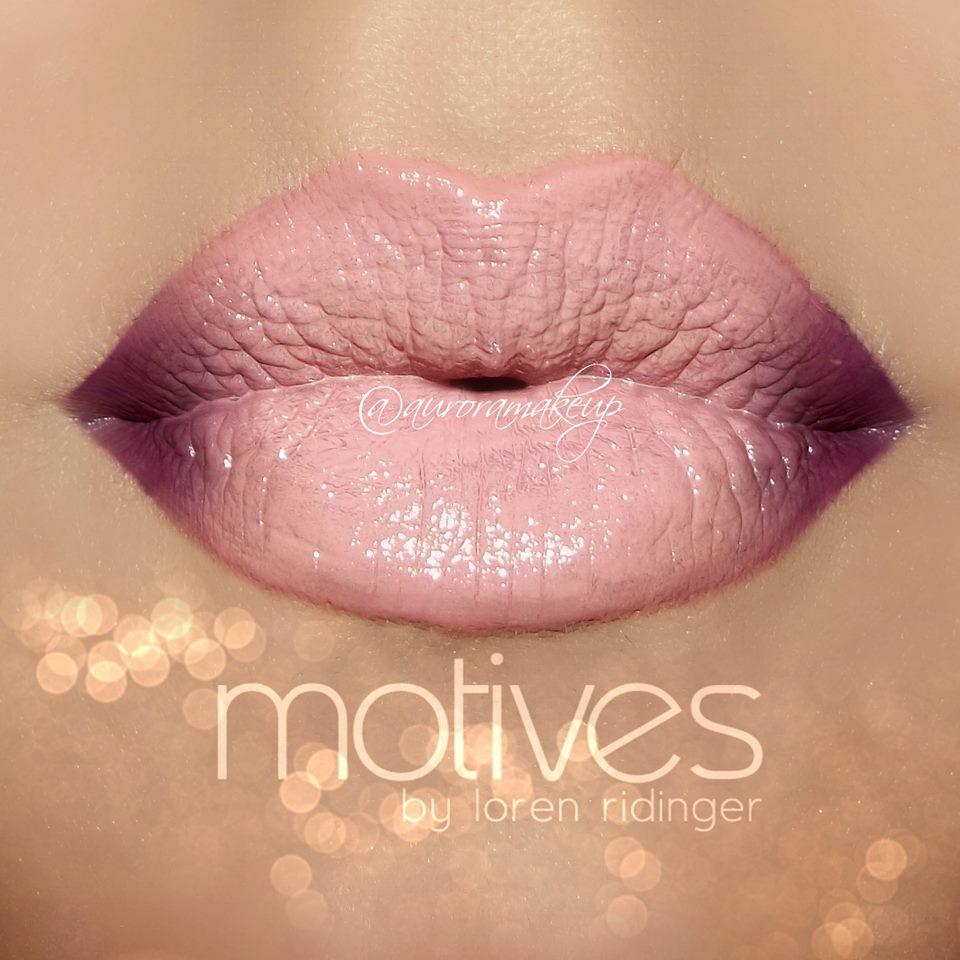 Barefoot Violet Lips