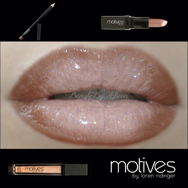 Nice Pecan Glam Lips