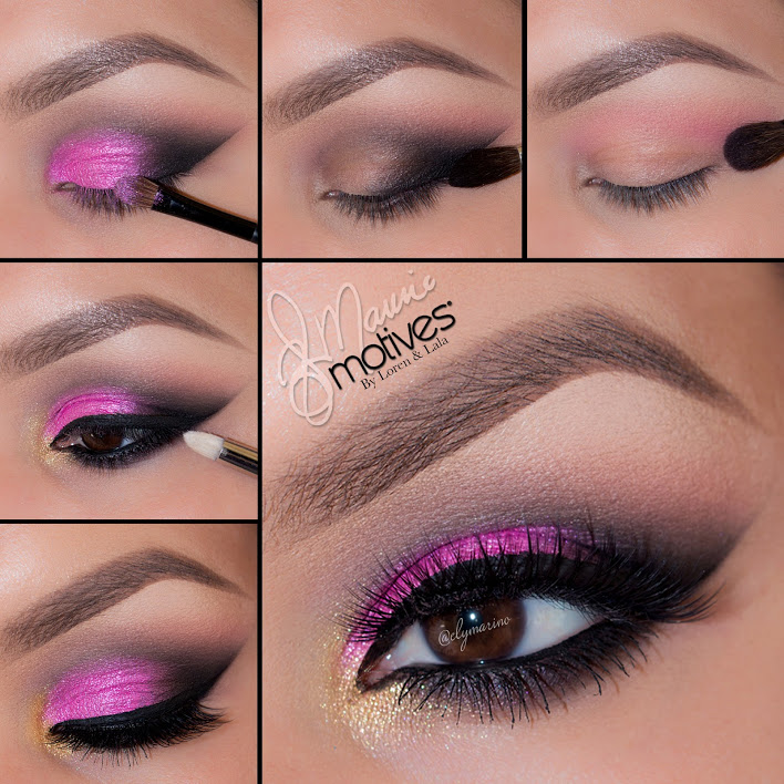 Pink with a Pop of Yellow