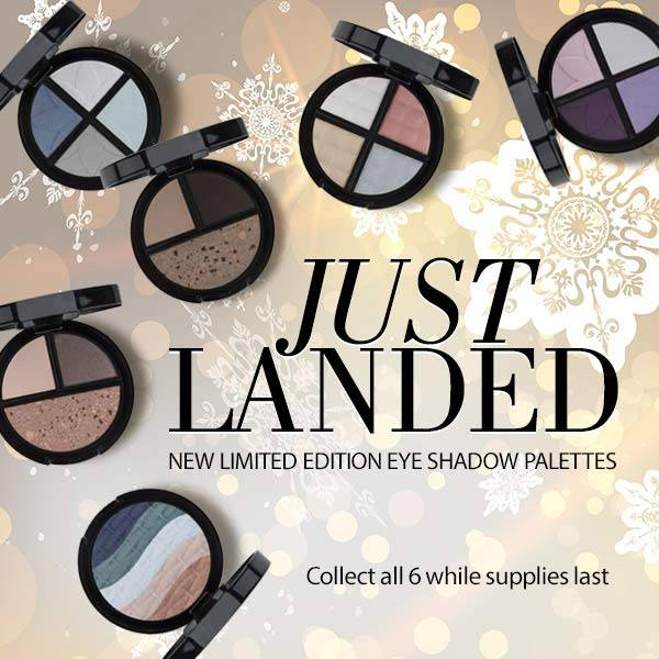 Motives Limited Edition Eye Shadow Palettes - Collect All 6