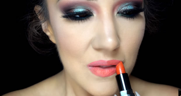 Colorful Dramatic Motives Look 2