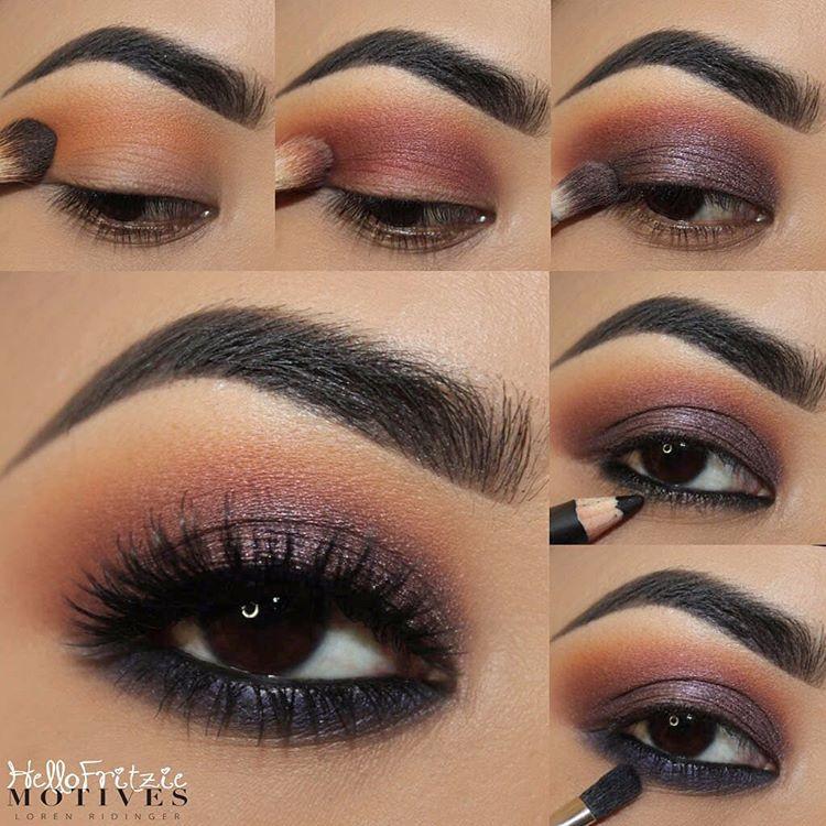 Fall Hues Eye Shadow Tutorial With Motives Cosmetics