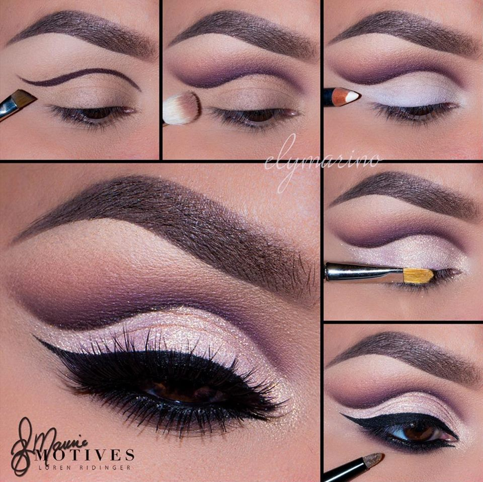 Alluring Paper Doll Angel Cut Crease Tutorial