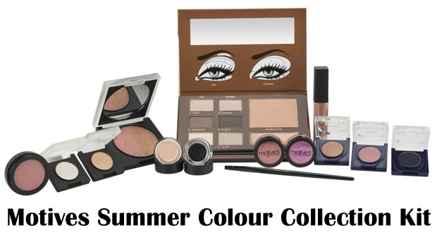 Motives Summer Colour Collection Kit Australia