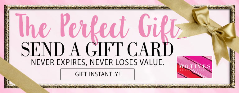 Just in time motives gift cards motives cosmetics has you covered motives gift cards are now available on motivescosmetics in multiple increments to suite your gift giving budget colourmoves