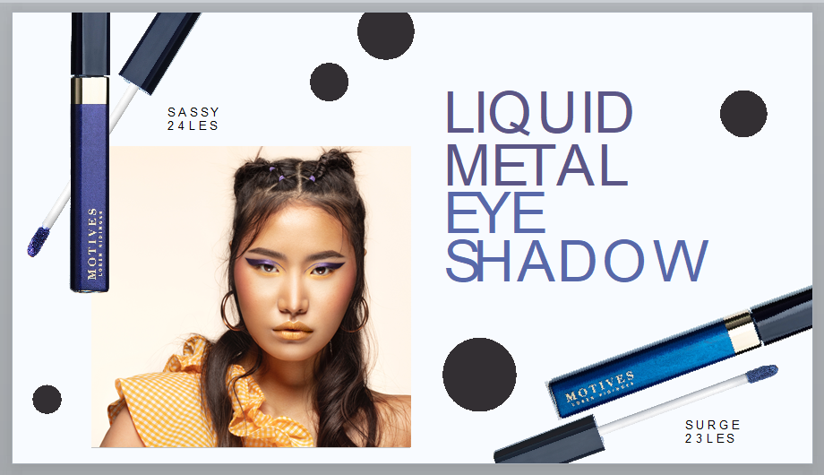 Motives Liquid Metal Eye Shadow