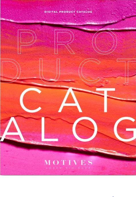 Motives Cosmetics Digital Catalog